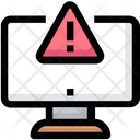 Computer Warning Error Icon