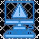 Computer Warning Alert Computer Warning Icon