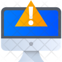 Computer Warning Computer Error System Error Icon