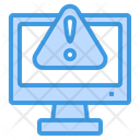 Computer Warning Icon