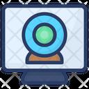 Computer Webcam Icon