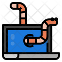 Virus Worm Computer Icon
