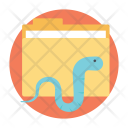 Worm Computer Virus Icon