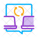 Computers Connection Development Icon