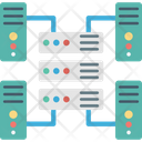 Computing Connected Server Network Server Icon