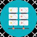 Computing Multiprocessor Server Icon