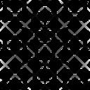 Grid Computing Distributed Icon