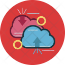 Computing Cloud Business Icon