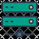 Computing Datacenter Hosting Icon