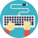 Computing Information Typing Icon