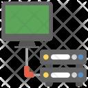 Server Hosting Computing Icon