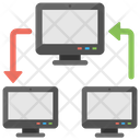 Client Server Hosting Icon