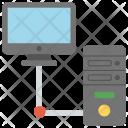 Hosting Computing Networking Icon