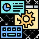 Comunication Online Setting Online Configuration Icon