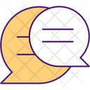 Comunication Between Sides Icon