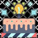 Concept Creative Cake Icon