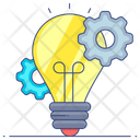 Idea Generation Innovation Idea Creation Icon