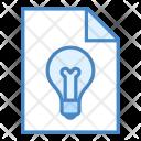 Concept Business File Icon