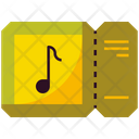 Concert Music Ticket Icon