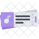 Concert Tickets Icon