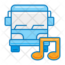 Concert Tour Musical Concert Bus Concert Bus Icon