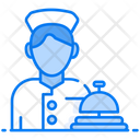 Doorman Concierge Service Doorkeeper Icon