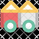 Concrete Vehicle Transport Icon