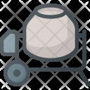 Concrete Buggy Tool Icon