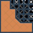 Concrete Solid Material Icon