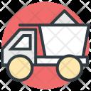 Concrete Truck Vehicle Icon