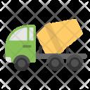 Concrete Mixer Vehicle Icon
