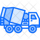 Concrete Mixer Truck Icon