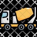 Concrete Mixer Construction Icon