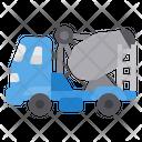 Concrete Mixer Truck Concrete Truck Icon