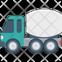 Concrete Mixer Concrete Vehicle Concrete Buggy Icon