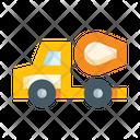 Concrete Mixer Mixer Truck Concrete Truck Icon