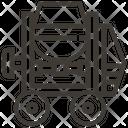Concrete Mixer Construction Tool Icon