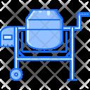 Concrete Mixer Interior Icon