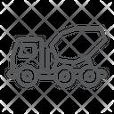 Concrete Mixer Truck Icon