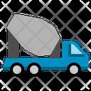 Concrete Truck Transport Transportation Vehicle Construction Icon