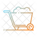 Concrete Wheelbarrow Icon