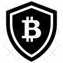 Bitcoin Security Concept Icon