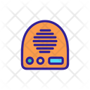 Heating Coolung Fan Icon