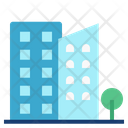 Condominium Condo Accommadation Icon