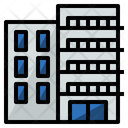 Condominium Living Town Icon