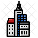 Condominium Building Estate Icon