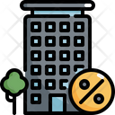Condominium Apartment Discount Icon