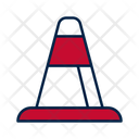 Cone Boundary Traffic Cone Icon