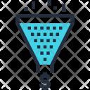 Cone Conversion Funnel Icon