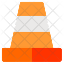 Cone Worker Working Icon